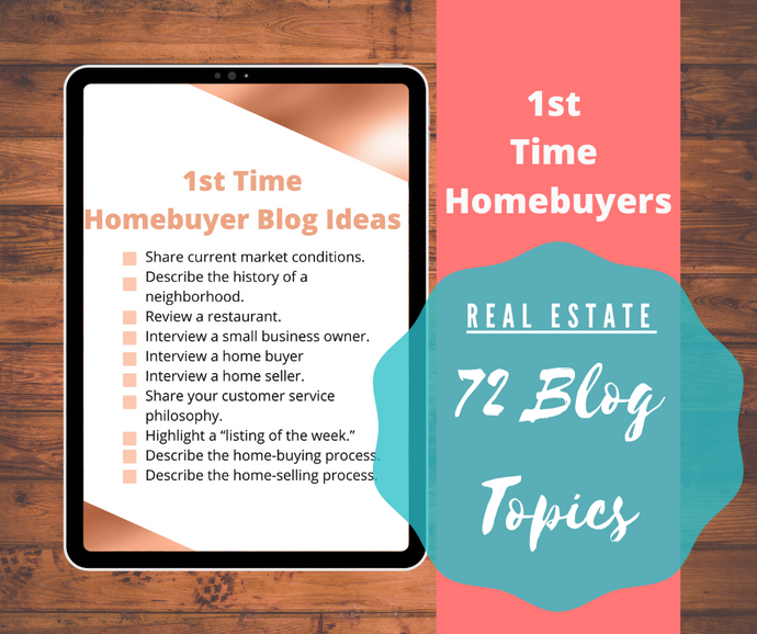72 1st Time Homebuyer Real Estate Blog Ideas - Best Real Estate Store