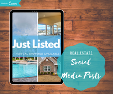 Load image into Gallery viewer, Real Estate Social Media Post Templates - Best Real Estate Store