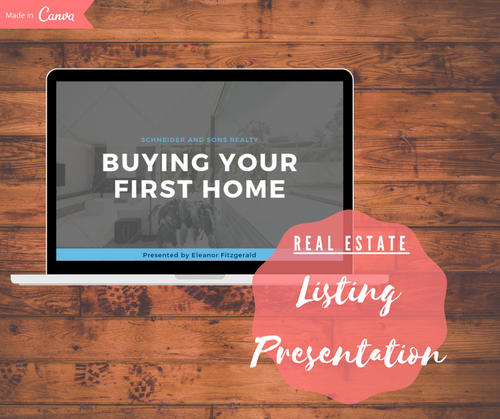 Real Estate Listing Presentation Template - Best Real Estate Store