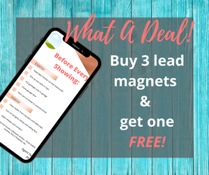 Real Estate Lead Magnet | Pre-Listing Checklist | Customizable Canva Template - Best Real Estate Store