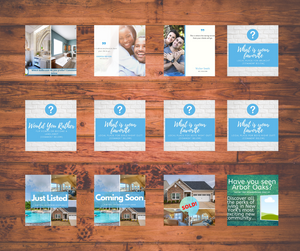 Real Estate Social Media Post Templates - Best Real Estate Store