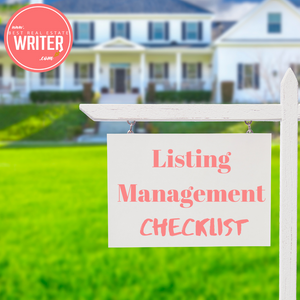 Real Estate Listing Management Checklist - Best Real Estate Store