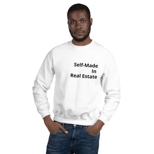Self-Made In Real Estate Unisex Sweatshirt - Best Real Estate Store