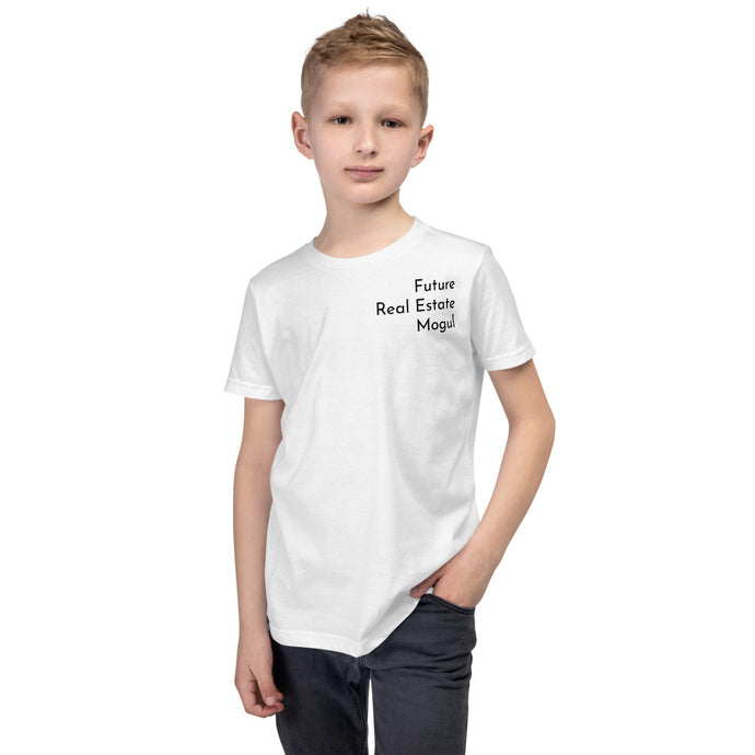 Future Real Estate Mogul Just Like My Mom Youth Short Sleeve T-Shirt - Best Real Estate Store