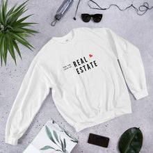 Load image into Gallery viewer, For The Love Of Real Estate Unisex Sweatshirt - Best Real Estate Store
