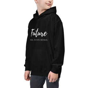 Future Real Estate Mogul Kids Hoodie - Best Real Estate Store