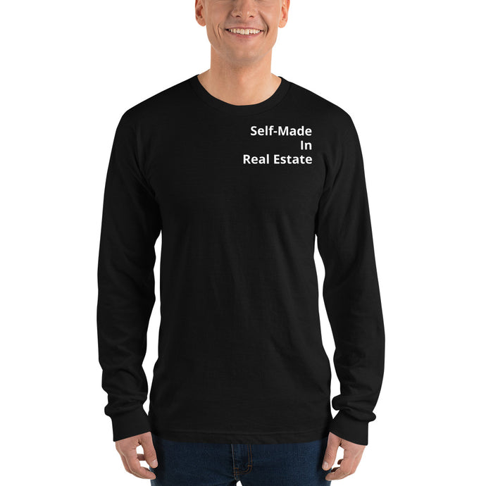 Self-Made In Real Estate Long sleeve t-shirt - Best Real Estate Store