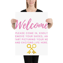 Load image into Gallery viewer, Open House Listing Welcome Poster | Sign - Best Real Estate Store
