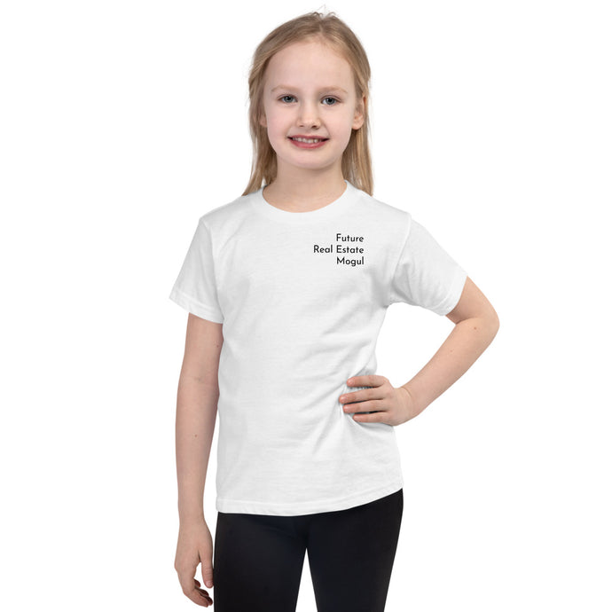 Short sleeve kids t-shirt - Best Real Estate Store