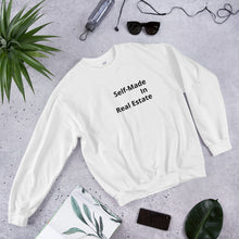 Load image into Gallery viewer, Self-Made In Real Estate Unisex Sweatshirt - Best Real Estate Store