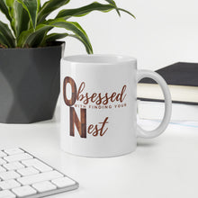 Load image into Gallery viewer, Obsessed With Your Nest Real Estate Agent Lead Generating Coffee Mug - Best Real Estate Store