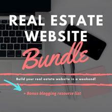 Load image into Gallery viewer, Real Estate Website Bundle - Best Real Estate Store