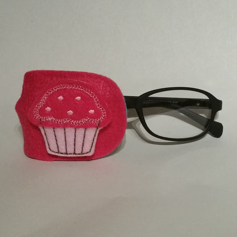 Cupcake Pink Eye Patch