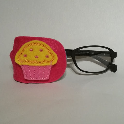 Cupcake Yellow Eye Patch