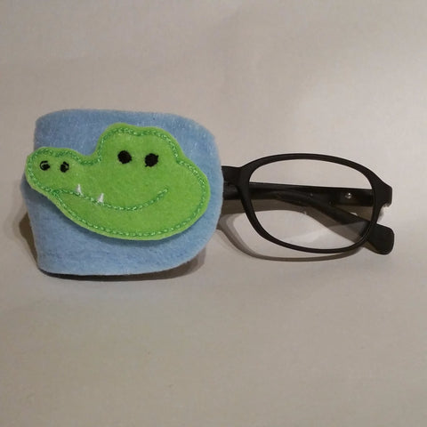 Alligator Eye Patch