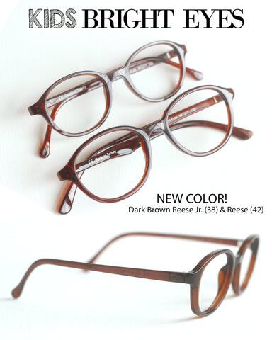 Reese Jr. Frame- Size 38, Dark Brown
