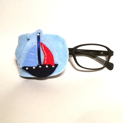All Aboard Boat Eye Patch