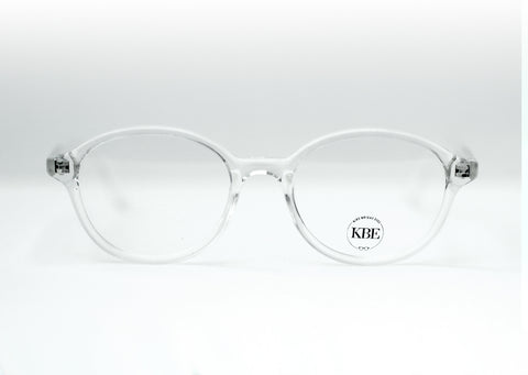Reese Jr. Frame- Size 38, Crystal Clear