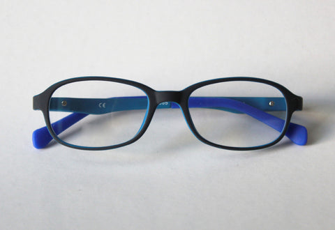 Riley Frame - Size 44, Black*Indigo