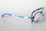 Riley Frame - Size 44, Blue*Light Gray