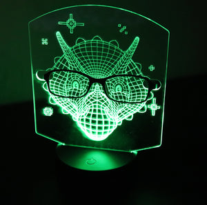 Glasses Holder & Nightlight