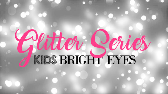 *Glitter Series* Clear - 5 Styles & Sizes