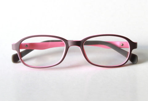 Riley Frame - Size 44, Dark Plum*Bubblegum