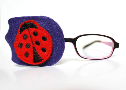 Lady Bug Eye Patch