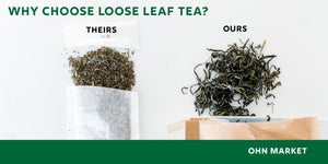We're looking inside what people put in their tea bags, drinking loose leaf tea just makes more sense since it is the whole leaf instead of the little bits in the bags
