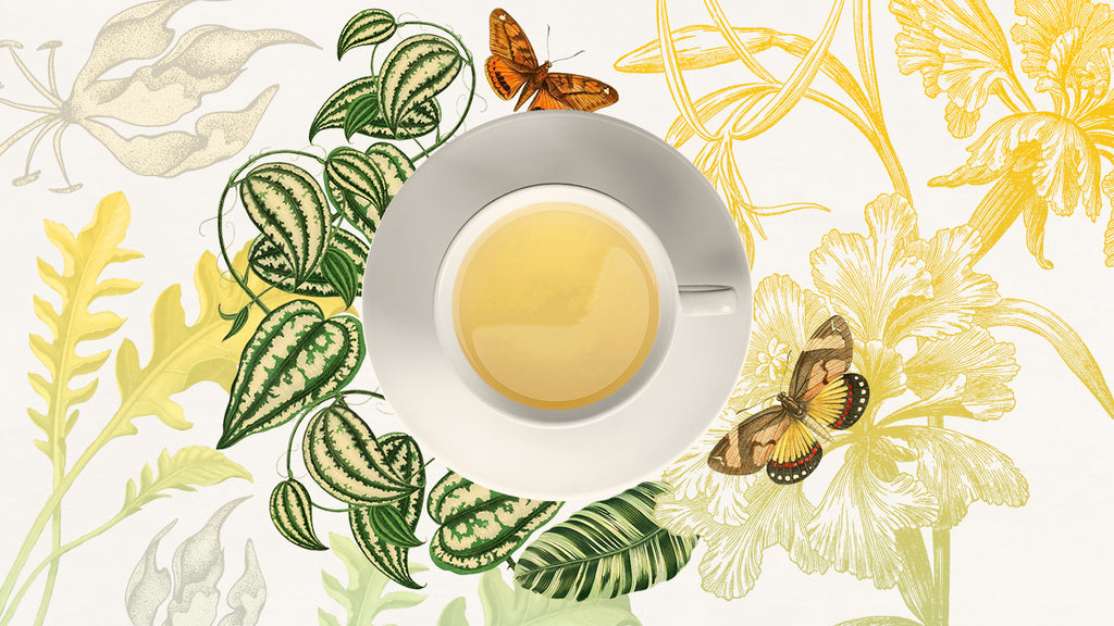 Try our yellow tea blend, Golden Sunrise for a unique original tea experience