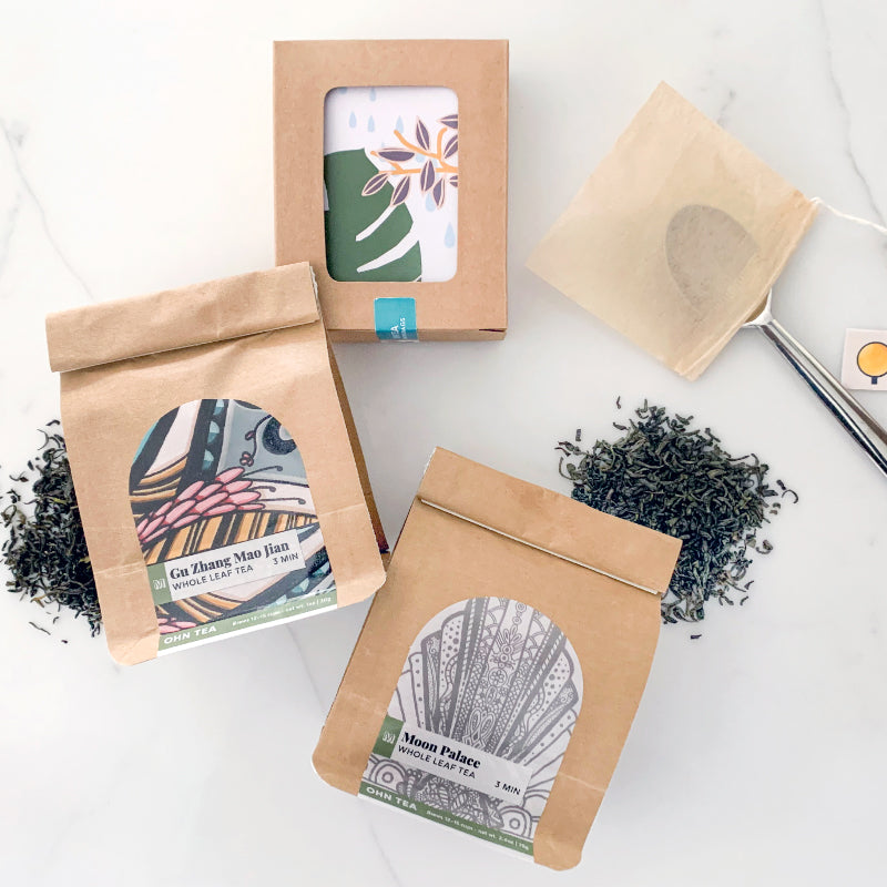 Mountain Delicate Green Tea Box Set
