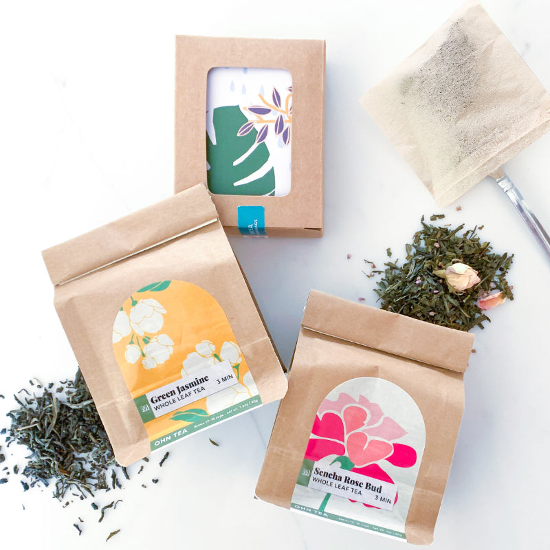 Garden Floral Green Tea Box Set