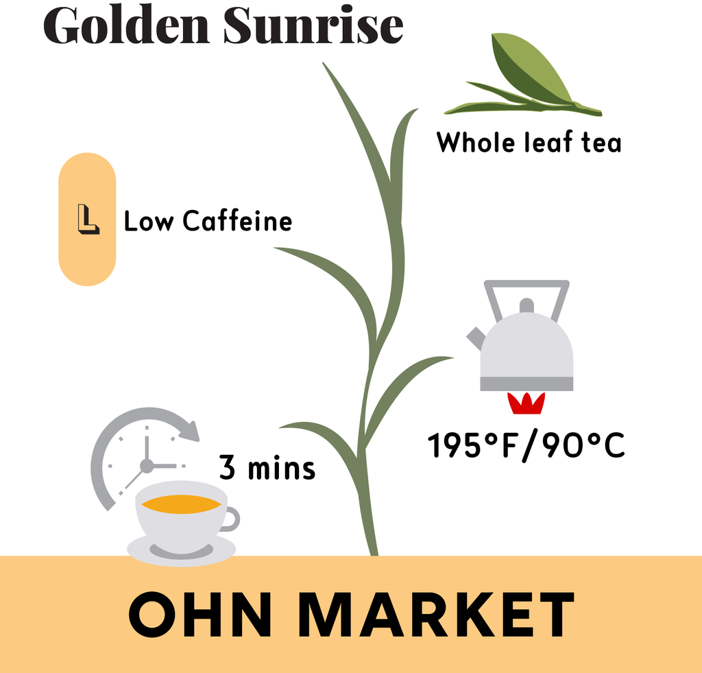 Golden Sunrise Yellow Tea 3.1oz