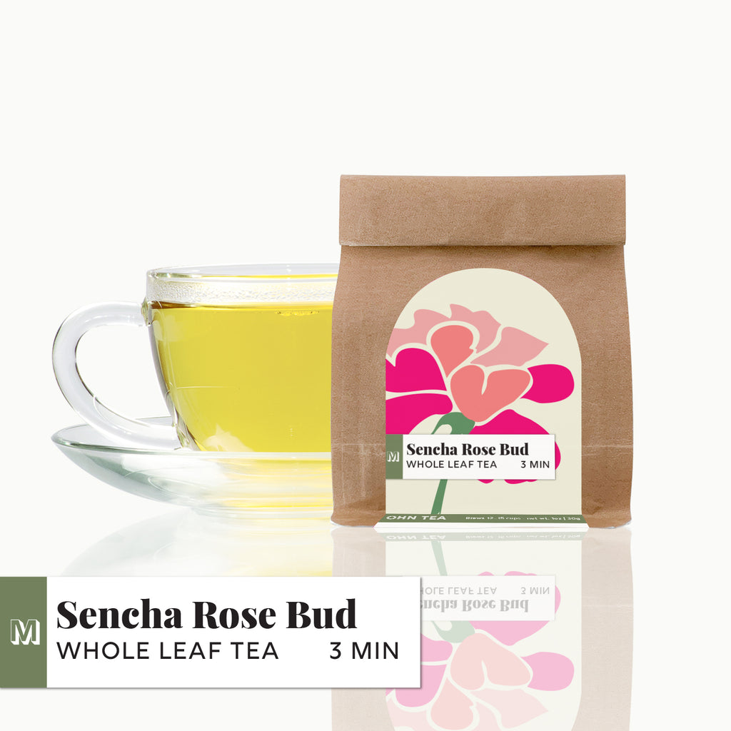 Sencha Rose Bud Tea
