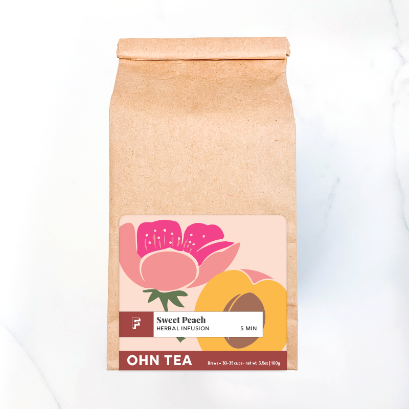 Back in stock! Sweet Peach Tea