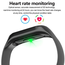 Load image into Gallery viewer, Smart Watch with Fitness Tracker and Heart Rate Monitor (Waterproof)