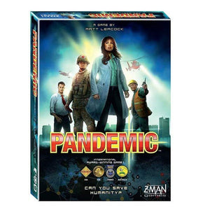 "PLAY ""Pandemic"" Board Game"