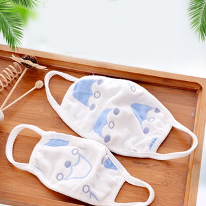 3pcs Anti-Dust Cotton Masks For Newborn Babies - Against Dust, Pollen, Allergens And Flu Germs (A35)