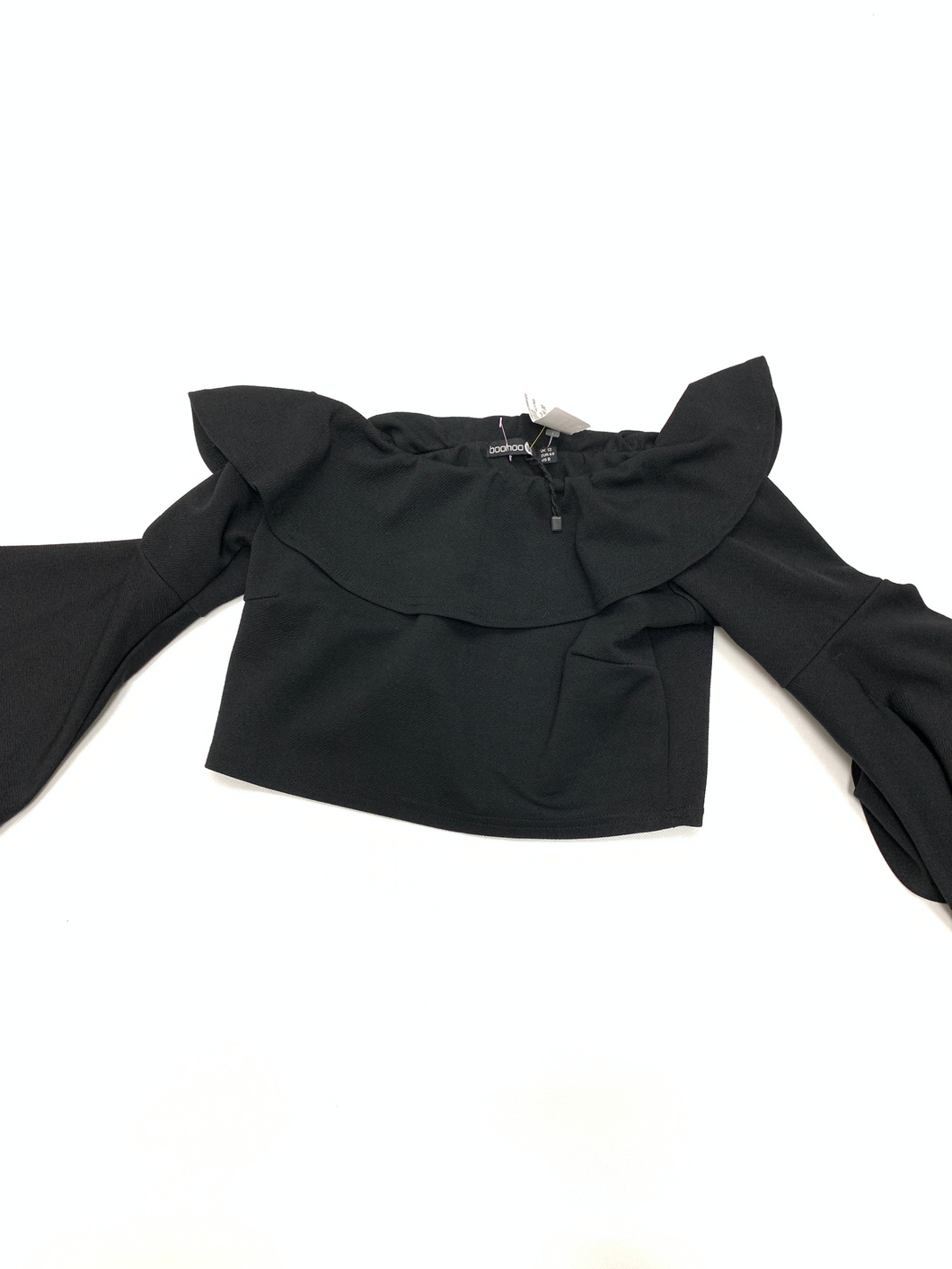Boohoo Long Sleeve Top Size Medium