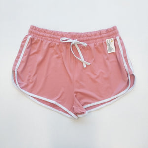 Orange Kiss Womens Shorts Extra Large