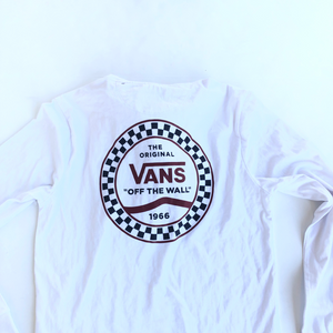 Vans Long Sleeve Top Size Large