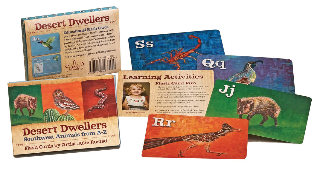 Desert Dwellers Flash Cards