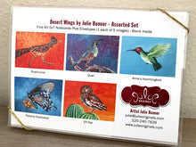 Load image into Gallery viewer, Desert Wings Assorted Greeting Card Set