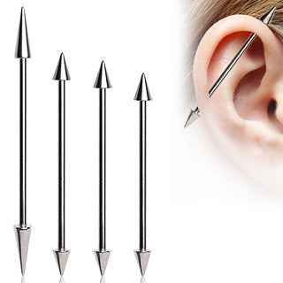 Industrial Barbell With Spikes
