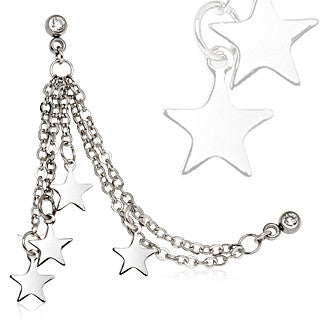 Chained Stars Cartilage Ring
