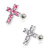 Cartilage Cross Stud Earring