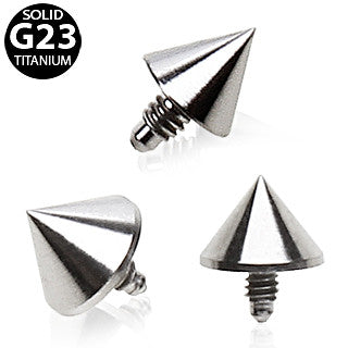 Grade 23 Titanium Dermal Top With Spike