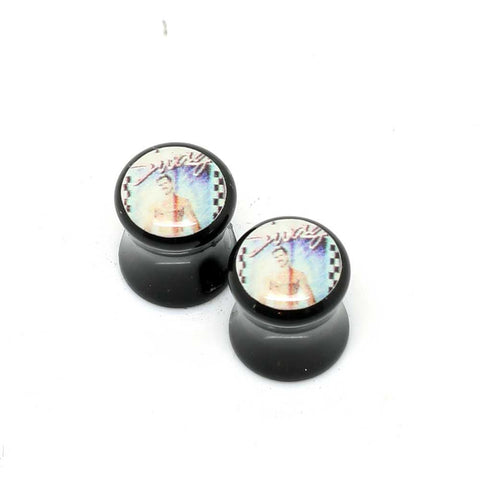 Acrylic Swag guy Ear Plugs - 00G