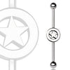 Industrial Barbell With Star Logo