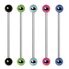 Industrial Barbell with Anodized Balls